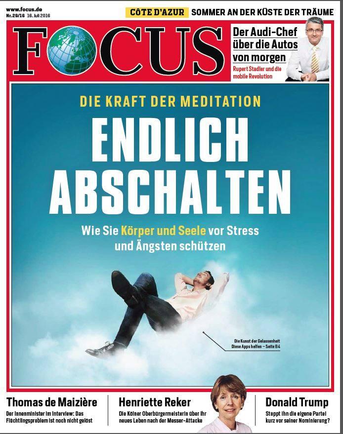 Titel Focus Endlich Abschalten
